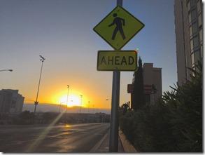 Ahead Sunrise